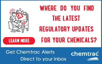 Track, Monitor, Manage and Control Chemical Regulations Compliance