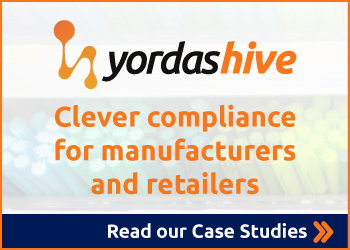Yordas HIVE chemical management and regulatory compliance